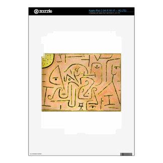Reflexión de Paul Klee iPad 3 Pegatina Skin