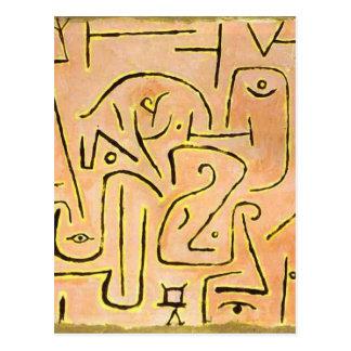 Reflexión de Paul Klee Tarjetas Postales