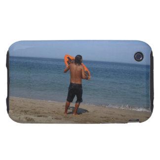 Reflexión de Skimboarder Funda Though Para iPhone 3
