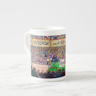 Reflexión de teatro tazas de porcelana