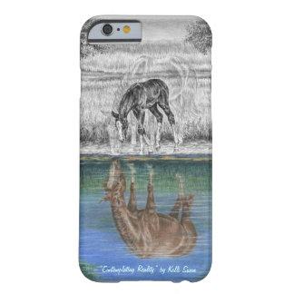Reflexión del agua del potro del caballo funda barely there iPhone 6