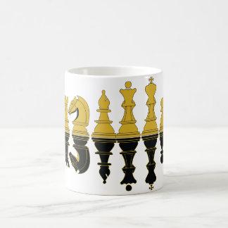 Reflexión del ajedrez, taza del ajedrez, ingenio-t