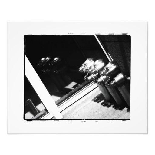 Reflexión del cromo arte fotografico