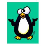 Reflexión del pingüino postal
