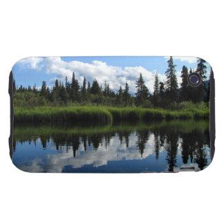 Reflexión del río de Lapie iPhone 3 Tough Cobertura