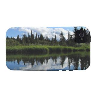 Reflexión del río de Lapie Vibe iPhone 4 Funda