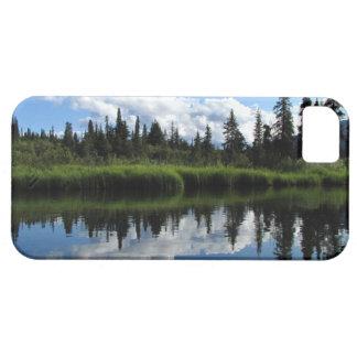 Reflexión del río de Lapie iPhone 5 Funda