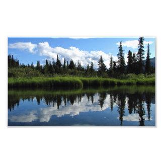 Reflexión del río de Lapie Arte Fotográfico