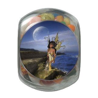 Reflexión del Sprite Jarras De Cristal Jelly Bely