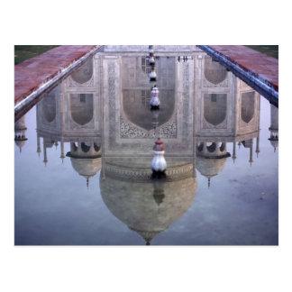 Reflexión del Taj Mahal, Agra, Uttar Pradesh, Postales