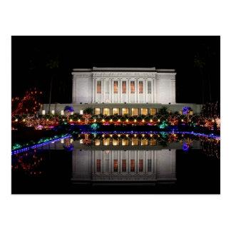 Reflexión del templo del Mesa Tarjeta Postal