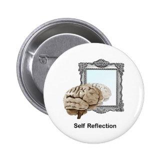 Reflexión del uno mismo pins