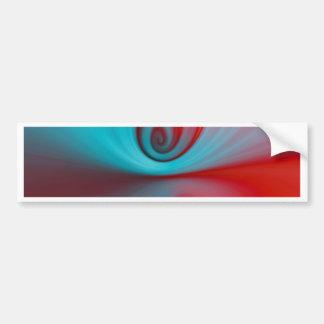 Reflexion designed by Tutti Bumper Sticker