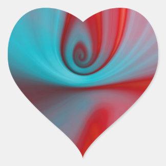 Reflexion designed by Tutti Heart Sticker