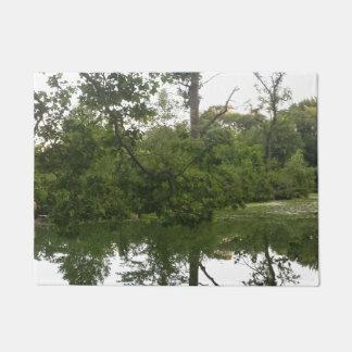 Reflexión en el Doormat del lago Felpudo