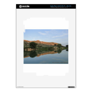 REFLEXIÓN en el parque de estado de Scott del lago Pegatina Skin Para iPad 3