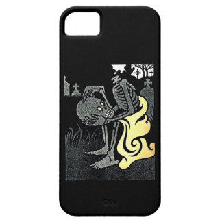Reflexión en un caso del iphone 5 del cementerio iPhone 5 funda