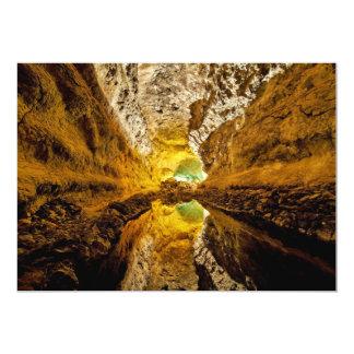 Reflexión en Water Cueva de los Verdes España Invitación 12,7 X 17,8 Cm