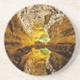 Reflexión en Water Cueva de los Verdes España Posavasos Diseño