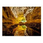 Reflexión en Water Cueva de los Verdes España Postal