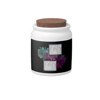 Reflexión floral jarras para caramelos