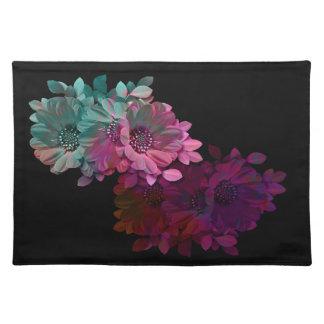 Reflexión floral mantel