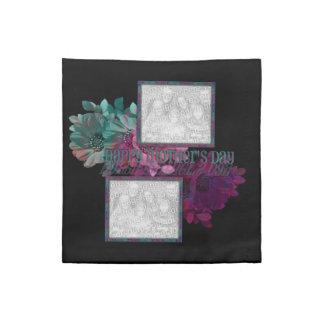 Reflexión floral servilleta
