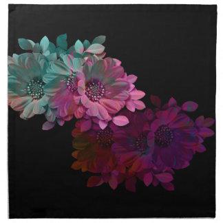 Reflexión floral servilletas