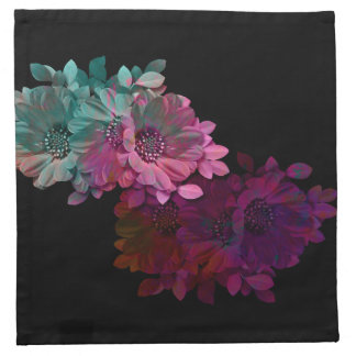 Reflexión floral servilletas de papel