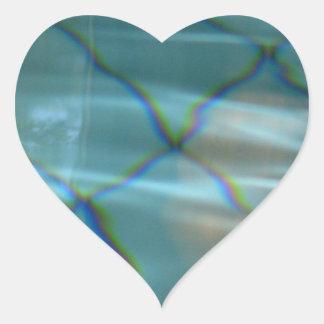 Reflexion Heart Sticker