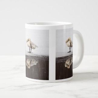 Reflexión hermosa taza grande