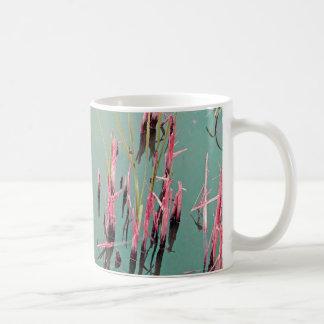 Reflexion in toilets coffee mug