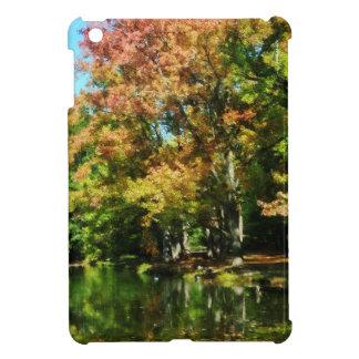 Reflexión preciosa del otoño iPad mini carcasas