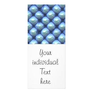 reflexión sedosa, azul (i) tarjeta publicitaria a todo color
