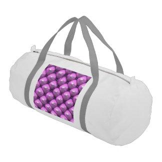 reflexión sedosa, (i) rosado bolsa de deporte