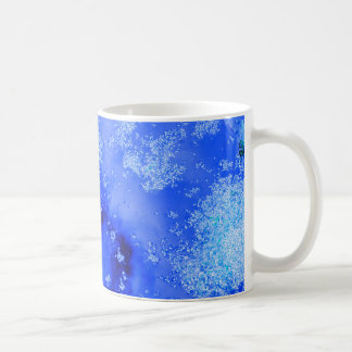 Reflexion sky in toilets coffee mug