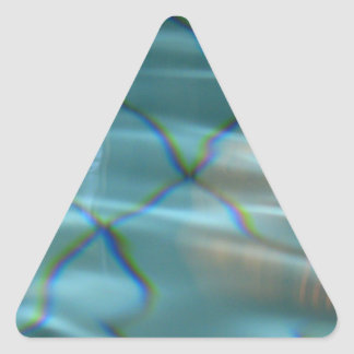 Reflexion Triangle Sticker