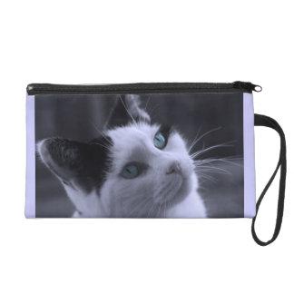 Reflexione el bolso de embrague del gatito
