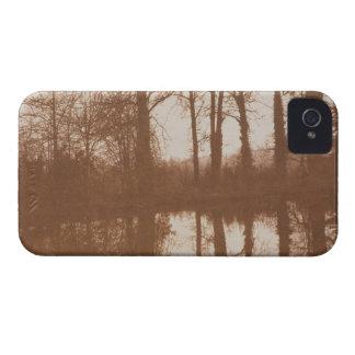 Reflexiones 1843 foto de la sepia iPhone 4 cárcasa