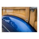 Reflexiones azules de Woody Tarjetas