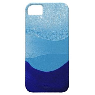 Reflexiones azules del vidrio del mar iPhone 5 Case-Mate carcasa