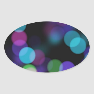Reflexiones coloreadas púrpuras y verdes azules de etiqueta
