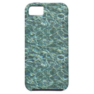Reflexiones cristalinas de la superficie del agua iPhone 5 carcasas