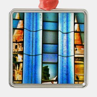 Reflexiones cubistas ornamente de reyes