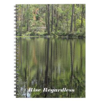 Reflexiones de Billabong Spiral Notebook