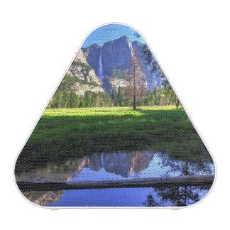 Reflexiones de caídas altavoz bluetooth