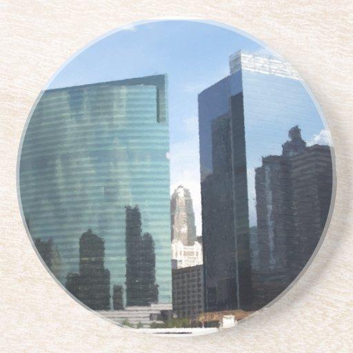 Reflexiones de Chicago Posavasos Diseño