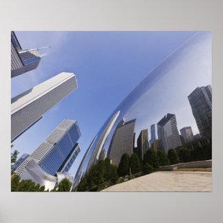 Reflexiones de Chicago Póster