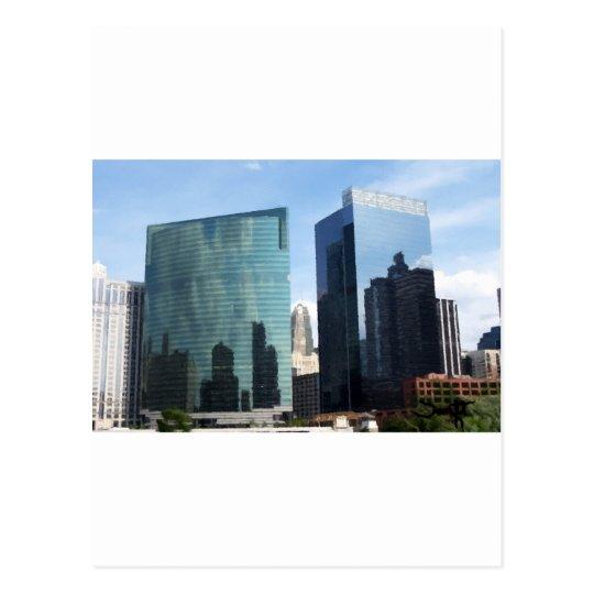 Reflexiones de Chicago Tarjetas Postales