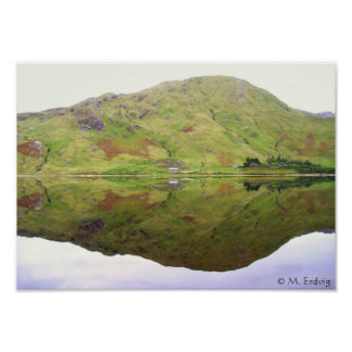 Reflexiones de Connemara Irlanda Poster